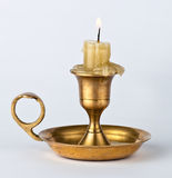 Antiker Kerzenhalter Lizenzfreies Stockbild