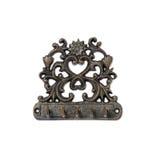 Antiker Metallaufhänger Stockfotografie