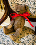 Antiker one-armed Teddybär Lizenzfreies Stockfoto