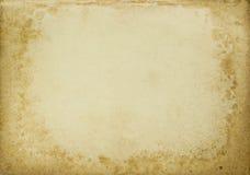 Antiker Papierhintergrund Stockfotografie