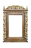 Antiker Rahmen lokalisiert Stockbilder