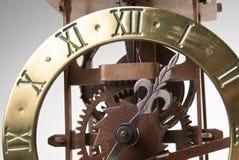 Antiker schauender Borduhrvorwahlknopf Lizenzfreie Stockfotografie