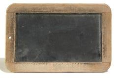 Antiker Schiefer, schwarzer Hintergrund Lizenzfreie Stockfotos