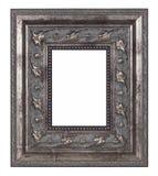 Antiker silberner Bilderrahmen Lizenzfreie Stockbilder