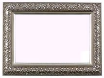 Antiker silberner Bilderrahmen Lizenzfreies Stockfoto