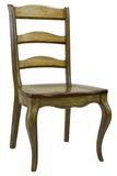 Antiker speisender Stuhl Stockfotos