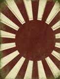 Antiker steigender Sun-Hintergrund vektor abbildung