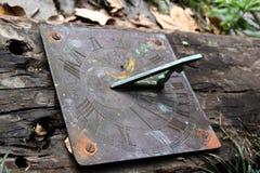 Antiker Sundial Lizenzfreies Stockbild