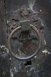 Antiker Tür-Klopfer Lizenzfreie Stockbilder