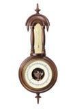 Antiker Thermometer und Hygrometer stockbilder