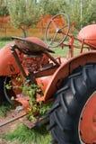 Antiker Traktor Stockbilder