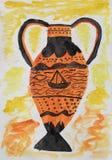 Antiker Vase Lizenzfreies Stockbild