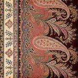 Antiker Weinlesepaisley-Inderhintergrund Stockbilder