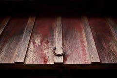 Antiker Weinlesepferdeschuh Lizenzfreie Stockbilder