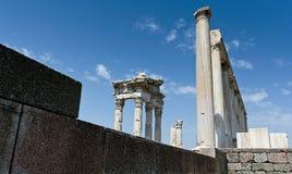 Antikeruinen in Ephesus Lizenzfreies Stockbild