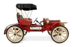 Antikes Auto 1910 Stockbild