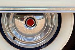 Antikes Auto Whitewalls Lizenzfreies Stockbild