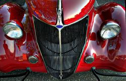 Antikes Automobil Lizenzfreies Stockbild