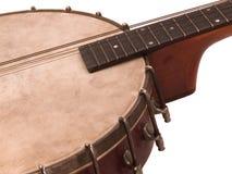 Antikes Banjolin stockbild