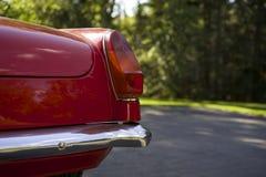Antikes britisches Sport-Auto-Rücklicht Lizenzfreie Stockfotos