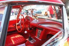 Antikes Chevrolet Corvette Automobil Lizenzfreies Stockbild