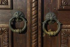 Antikes doorknocker Stockfoto