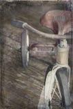 Antikes Dreirad Lizenzfreie Stockfotos