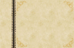 Antikes Einklebebuch Stockbilder