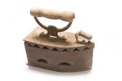 Antikes elektrisches Eisen Lizenzfreie Stockfotografie