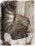 Antikes Grammophon Lizenzfreies Stockfoto
