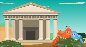 Antikes Griechenland Lizenzfreies Stockbild
