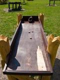 Antikes hölzernes Spielzeug Stockbild