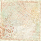 Antikes Hintergrundmit blumenthema der Weinlese Lizenzfreie Stockfotografie