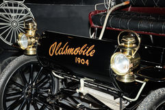 1904 antikes Oldsmobile Automobil Stockfoto