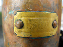 Antikes Salz Stockfotos