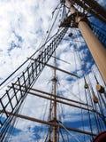 Antikes Segelboot Stockfotografie