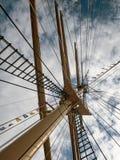 Antikes Segelboot Lizenzfreie Stockbilder