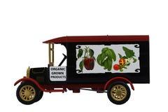 Antikes Spielzeuglastwagenmodell 1926 Stockfotos