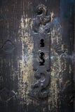 Antikes Türschlossdetail Lizenzfreie Stockfotografie