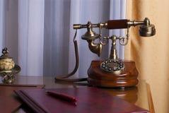 Antikes Telefon Stockfotografie