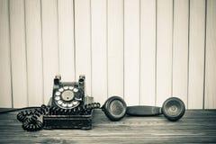 Antikes Telefon Lizenzfreie Stockfotos