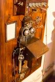 Antikes Telefon Stockfotos