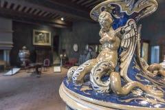 Antikes Vasenfragment Stockfotografie