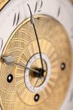 antikt arabiskt klockadetaljtal Arkivbilder