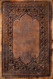 antikt bokomslag Fotografering för Bildbyråer
