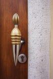 antikt dörrhandtag Royaltyfria Foton