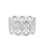 Antikt diamantart décoarmband Royaltyfria Foton