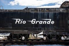 Antikt drev Rio Grande Royaltyfri Fotografi