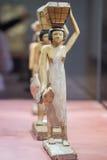 Antikt egyptiskt statyettslut upp Fotografering för Bildbyråer