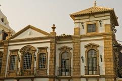 antikt europeiskt hus royaltyfri fotografi